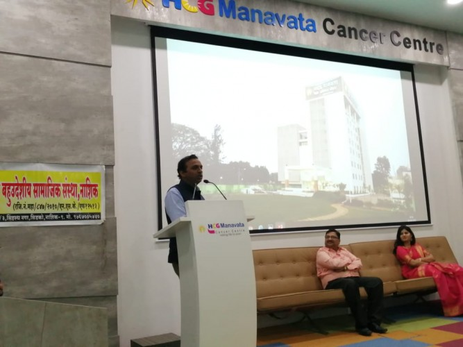 Health and Cancer Sensitization Talk given by Dr Raj Nagarkar