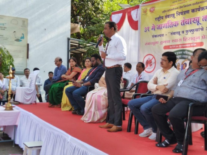 Dr Raj Nagarkar participation in World No Tobacco Day 2019