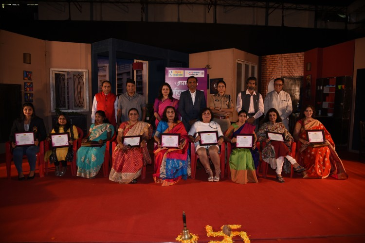 """famous Marathi comedy play  """"Once More !""""  in association with Lokamat Sakhi Manch"""