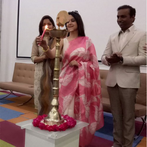 Inauguration ceremony of CDC OPD by Mrunal Kulkarni