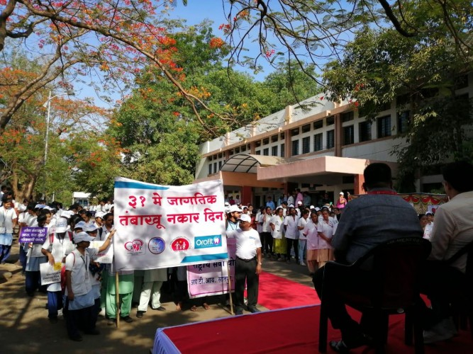 World No Tobacco Day 2019 Rally