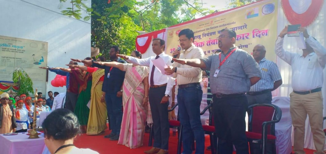 HCG Manavata Cancer Centre Nashik Celebrated WORLD NO TOBACCO DAY-2019