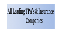 All leading TPA's and insurance companies